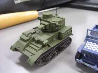 エアフィックス1/76 Vikkers Light-Tank