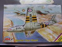 MPM 1/72 Hawker Seahawk